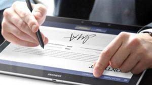 chữ ký số quản trị