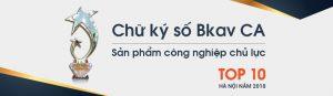 chữ ký số của BKAV