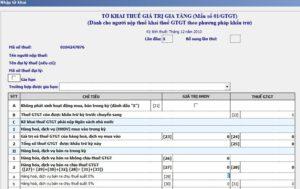 báo cáo thuế qua mạng