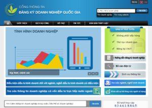 thông tin đăng ký doanh nghiệp quốc gia
