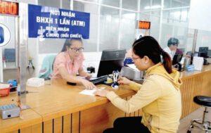 lĩnh tiền bảo hiểm xã hội