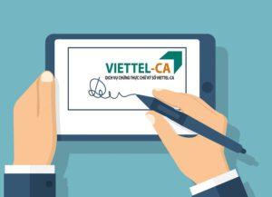 mua chữ ký số của viettel