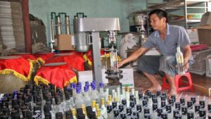 thành lập cơ sở sản xuất rượu