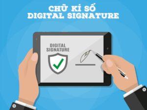 đăng ký chữ ký số với vcci