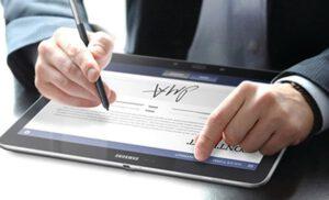 ứng dụng của chữ ký điện tử