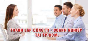 thành lập công ty tại TpHCM