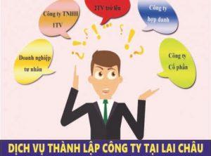 thành lập công ty tại Lai Châu