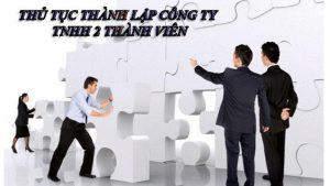 Thành Lập Công Ty TNHH 2 thành viên tại HCM