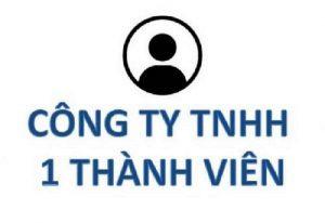 Thành Lập Công Ty TNHH 1 thành viên tại Hà Nội