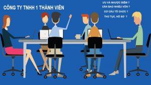 thành lập công ty TNHH 1 thành viên tại bình định