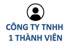 thành lập công ty TNHH 1 thành viên tại long an