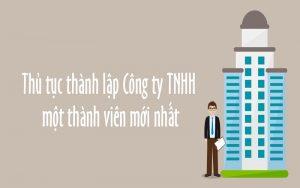 thành lập công ty TNHH 1 thành viên tại thái nguyên