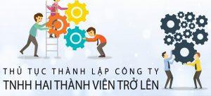 thành lập công ty TNHH 2 thành viên trở lên tại hà nội