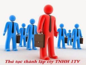 thành lập công ty TNHH 1 thành viên tại thanh hóa