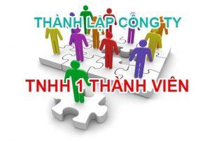 thành lập công ty TNHH 1 thành viên tại cần thơ