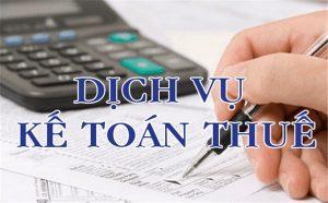 dịch vụ kế toán thuế tại tphcm