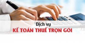 kế toán thuế trọn gói tại Bình Định